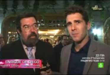 Josep Anglada s'empipa a El Intermedio