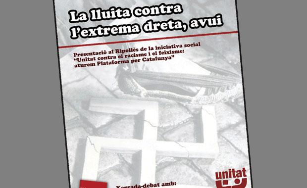 Presentació d'Unitat contra el feixisme a Ripoll