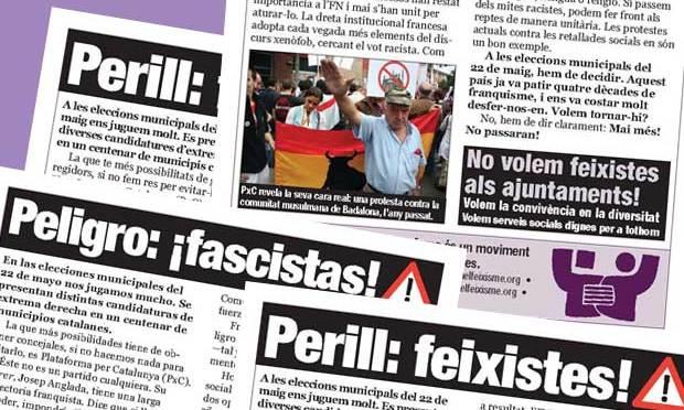 Perill: feixistes!