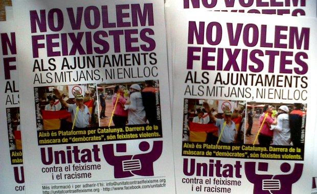 Assemblea general, Unitat contra el feixisme i el racisme · dt 19 de juliol, 19h · Sodepau