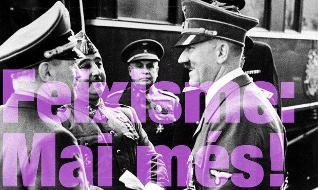 Declaració d'Unitat Contra el Feixisme i el Racisme sobre l'aniversari de l'aixecament franquista