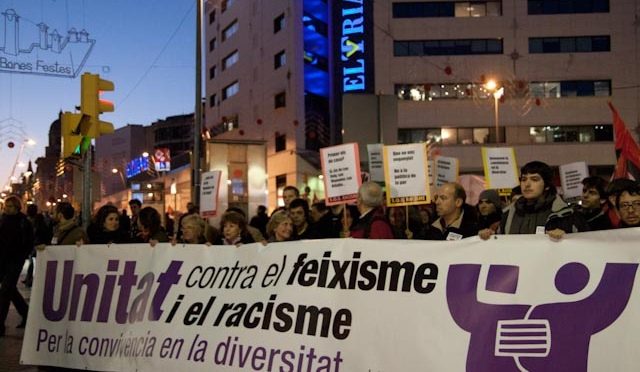 Manifestació unitària • 13-N, 13h • Plaça Universitat