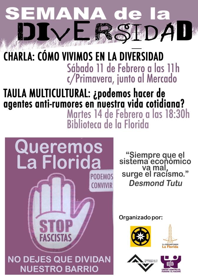 Setmana de la diversitat a La Florida, L'Hospitalet