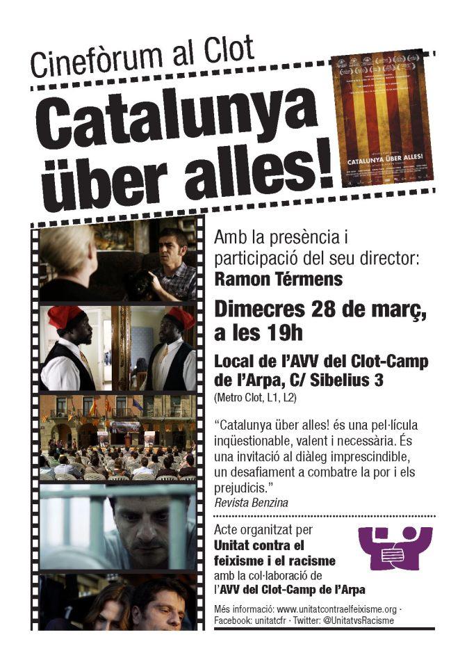 Cinefòrum al Clot: Catalunya über alles!