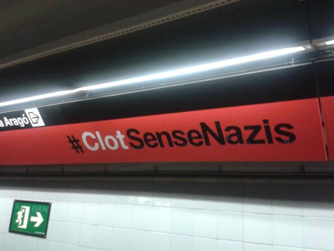 """Comunicat de premsa: """"No volem feixistes al Clot, a Barcelona ni enlloc"""""""
