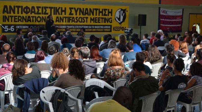 Jornada Internacional de acción contra el fascismo y el racismo, 22 de marzo de 2014