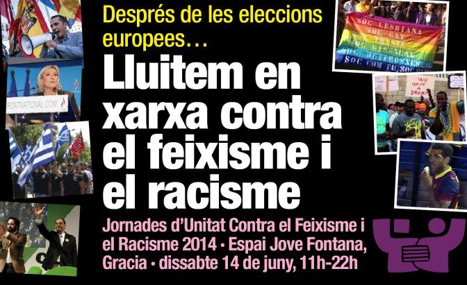 Jornades 2014: Lluitem en xarxa contra el feixisme i el racisme