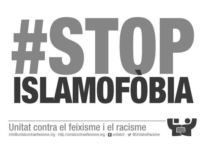 Full per imprimir: #StopIslamofòbia