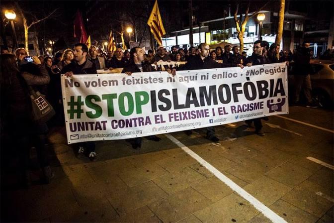 Stop Islamofòbia! Declaració unitària