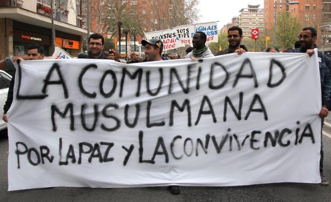 Per la pau i la convivència, #StopIslamofòbia