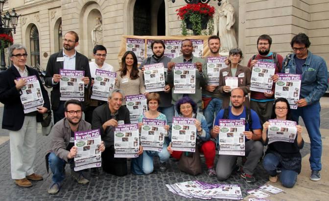 Candidatures contra el feixisme i la xenofòbia: Actes locals, dv 15-M · #NoVotisPxCX