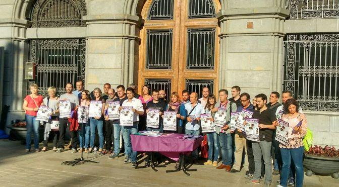 Eleccions municipals: Declaració de les candidatures contra el feixisme i la xenofòbia