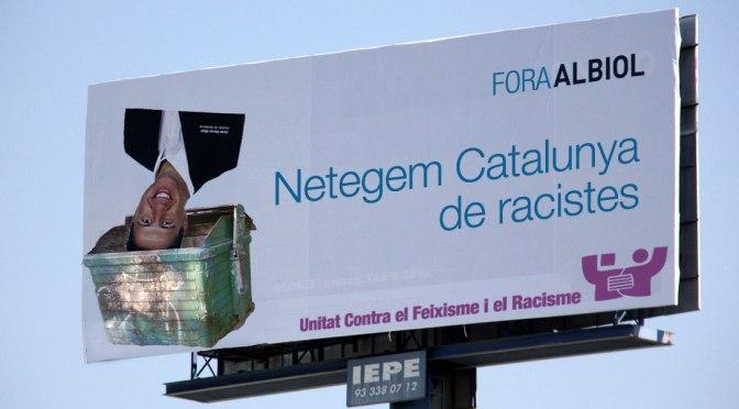 No votis racisme! No votis el PP de García Albiol!