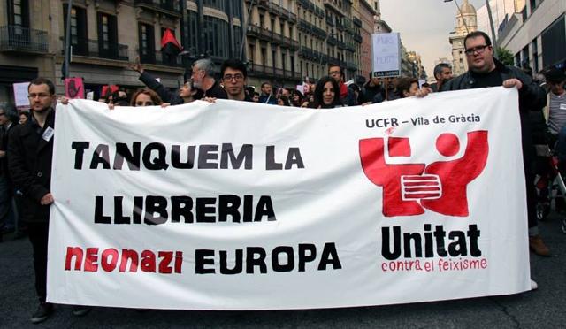 "Ni antisemitisme ni islamofòbia: Tanquem el centre neonazi ""Europa"""