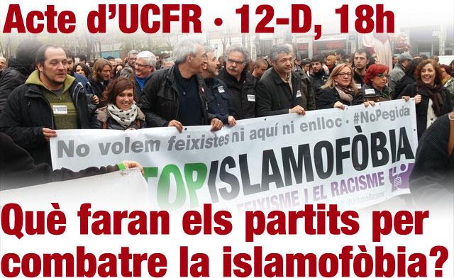 Què faran les formacions polítiques per combatre la islamofòbia?