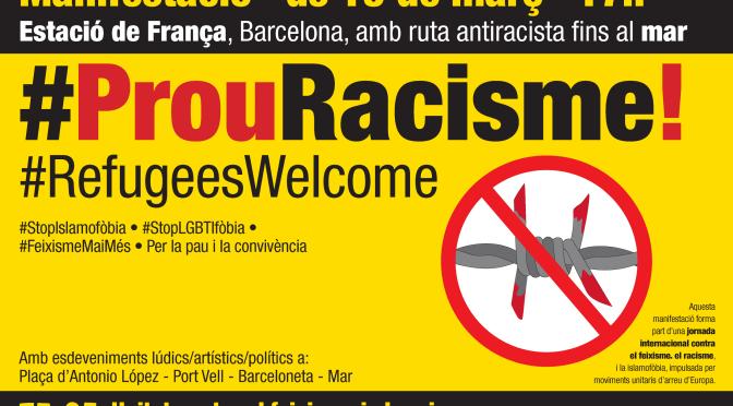 Declaració #19M, #ProuRacisme
