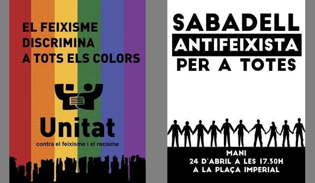 Penedès, Sabadell… allà on calgui: Feixisme Mai Més, #NoPassaran