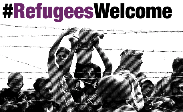 #RefugeesWelcome #ObriuFronteres