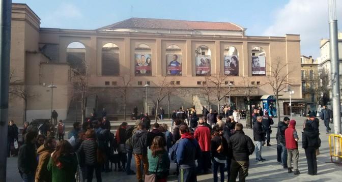 Arxivades les multes a les antifeixistes per la concentració de SOM Catalans