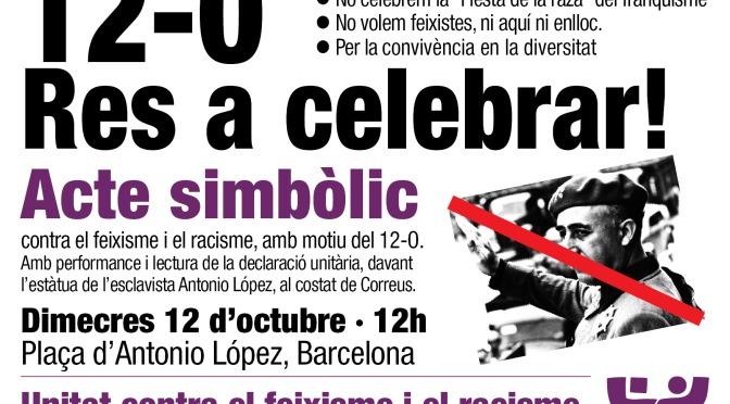 12-O: Res a celebrar!