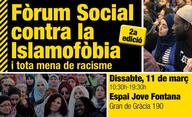 #StopIslamofòbia: Fòrum 2017
