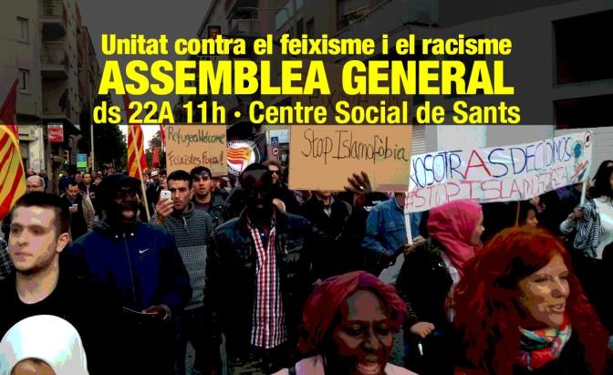 Assemblea general · 22A, 11h · Sants