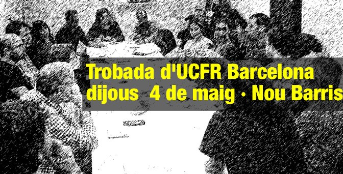 Trobada d'UCFR Barcelona · dj 4M · Nou Barris