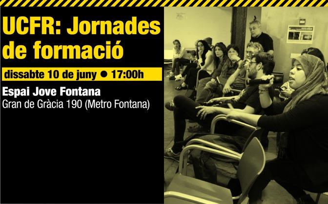 Jornades de formació · 10J, 17h · Gràcia