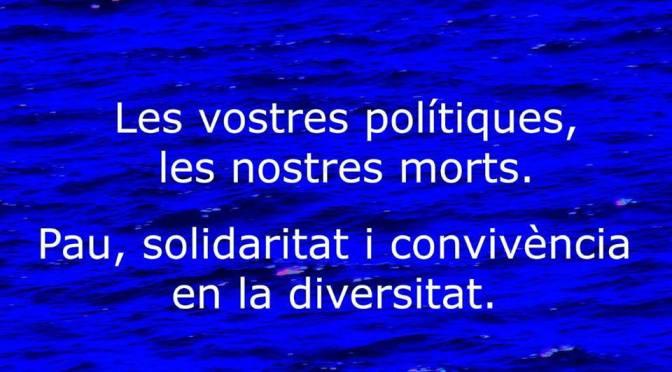 26A, #Anemdeblau: Pau, solidaritat i convivència en la diversitat