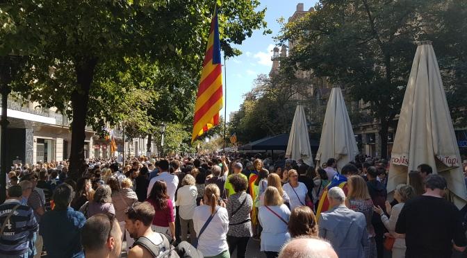 Per la defensa de la democràcia i les institucions catalanes