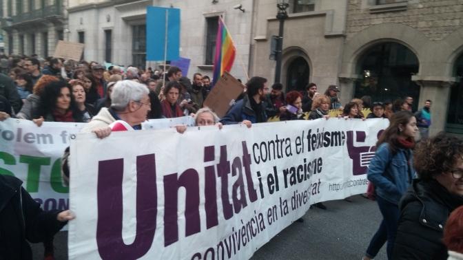 Contra la presència de grups feixistes