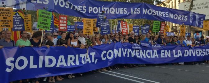 Manifestació #18N · Unim-nos contra les agressions feixistes