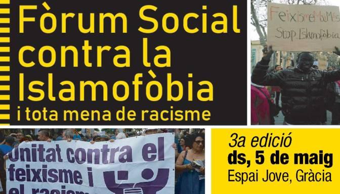 Fòrum Social contra la Islamofòbia i tota mena de racisme, 2018