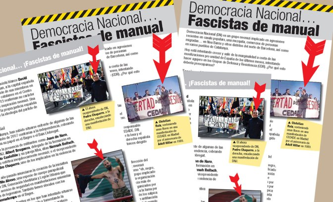 Democracia Nacional… Fascistas de manual