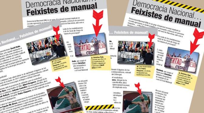 Democracia Nacional… Feixistes de manual