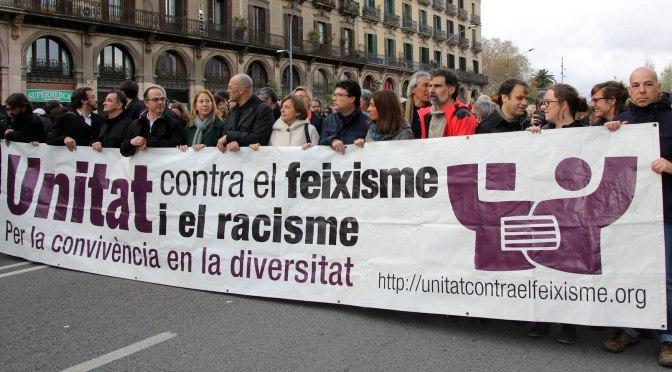 No a les intromissions judicials de l'extrema dreta