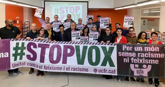 Criden a una multitudinària protesta amb el lema #23StopVOX