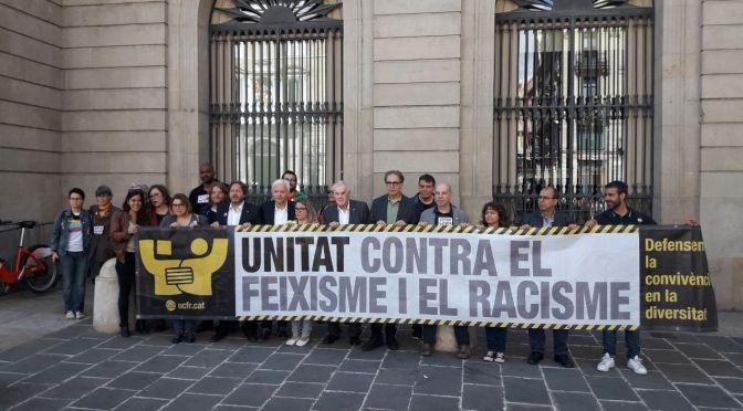 Crida de les candidatures democràtiques: no a l'odi, #StopVOX