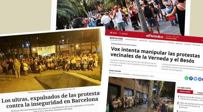 Besòs i La Verneda: Vides dignes en barris dignes!
