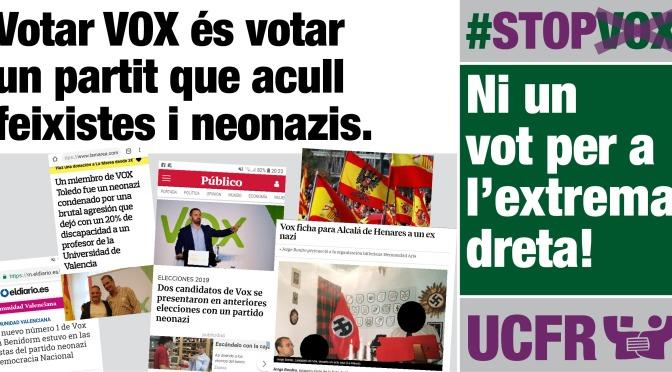 Gràfics #StopVox10N