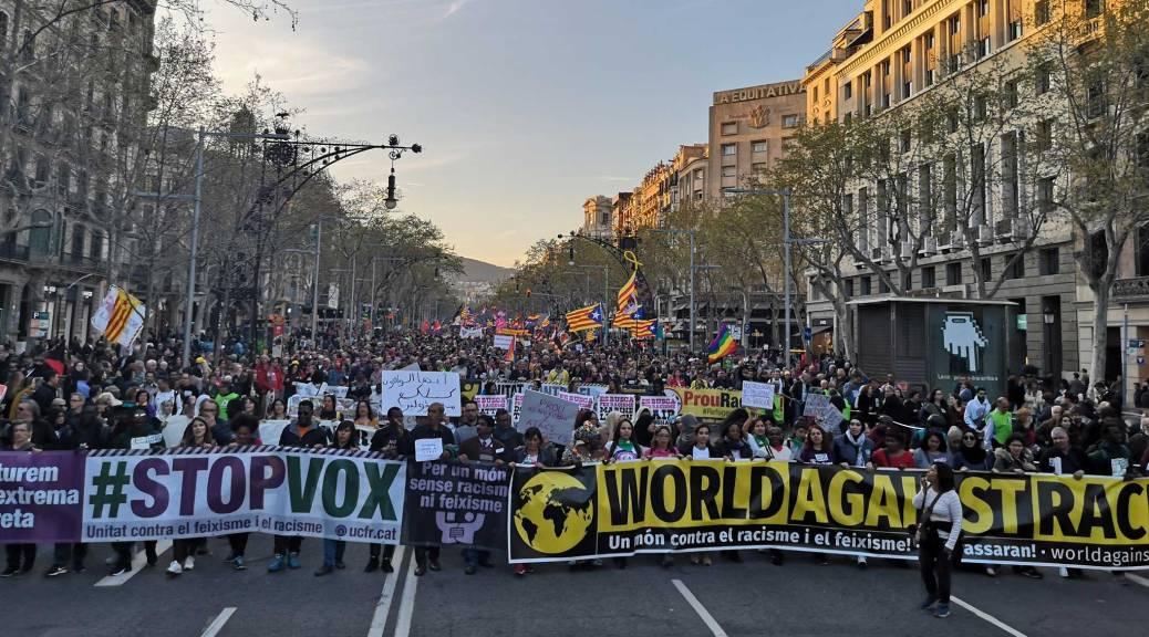 Unitat contra el feixisme i el racisme | Web del moviment ampli i unitari  contra l'extrema dreta