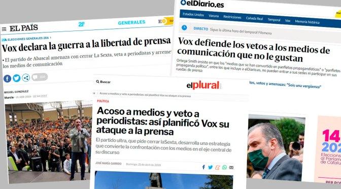 No volem l'extrema dreta als mitjans públics