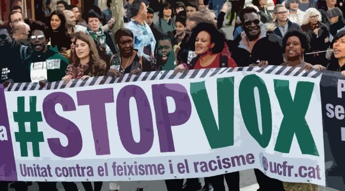 Declaració unitària contra el racisme i l'extrema dreta: #StopVOX14F