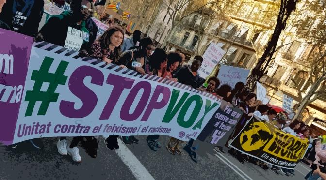 Declaración unitaria contra el racismo y la extrema derecha: #StopVOX14F